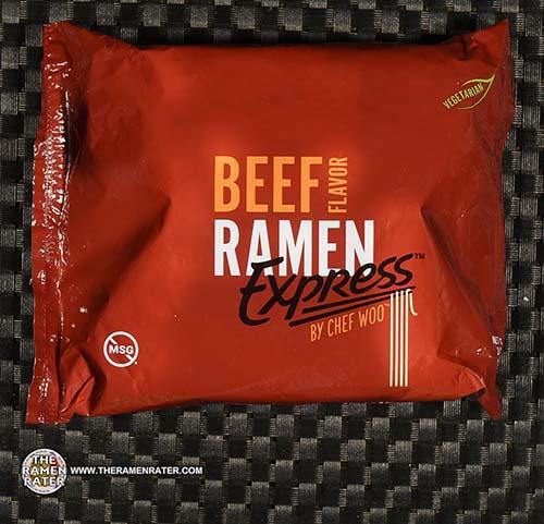 #3794: Ramen Express By Chef Woo Beef Flavor Ramen - United States