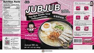 #3797: Jub Jub Thai Rice Noodle Soup Original Flavor - Thailand