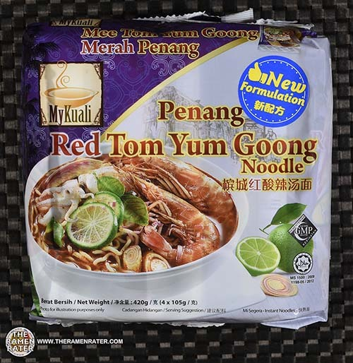 #3840: MyKuali Penang Red Tom Yum Goong Noodle (New Formulation) - Malaysia