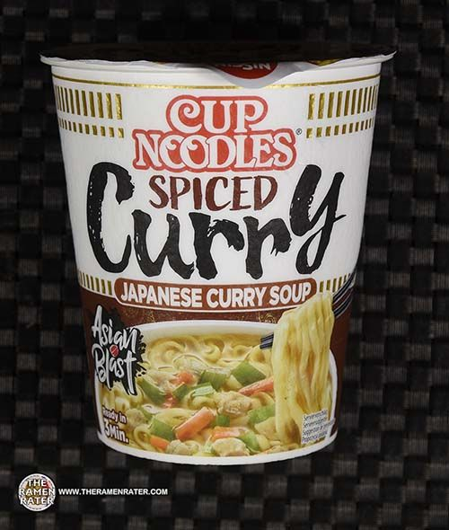 #3846: Nissin Cup Noodles Spicy Curry Japanese Curry Soup - Germany