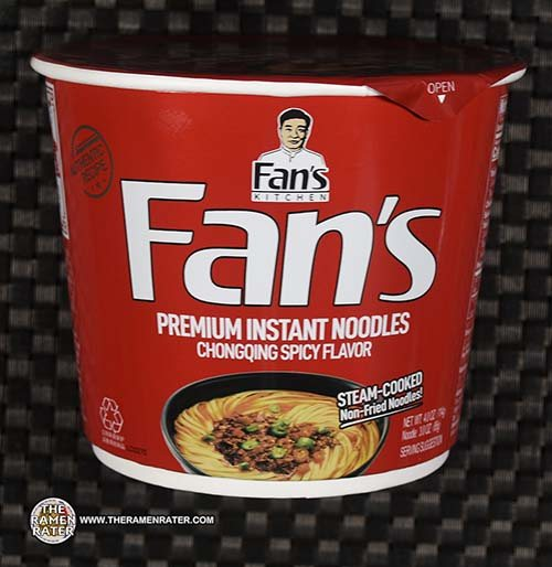#3874: Fan's Kitchen Premium Instant Noodles Chongqing Spicy Flavor - China