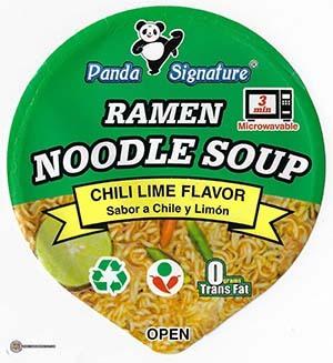 #3861: Panda Signature Ramen Noodle Soup Chili Lime Flavor - United States