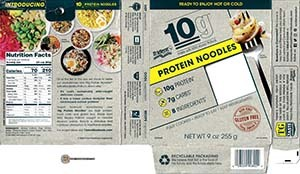 #3923: Trident Protein Noodles - United States