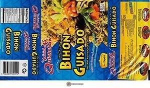#3883: Quickchow Instant Bihon Guisado - Philippines