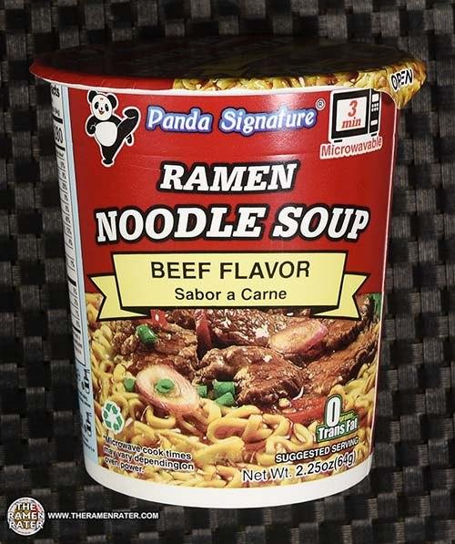 #3929: Panda Signature Ramen Noodle Soup Beef Flavor - United States
