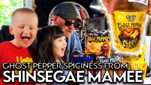 Shinsegae Mamee Sends New Ghost Pepper Samples - Malaysia