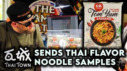 Thai Town Tom Yum Flavor Noodle Sample - Taiwan