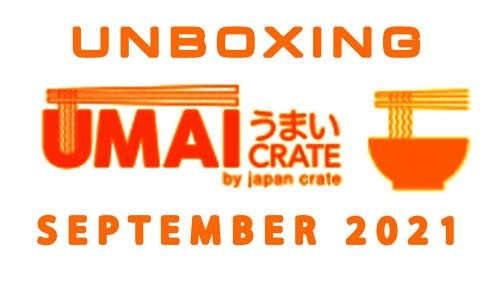 Umai Crate Japanese Instant Ramen Noodle Subscription Box - September 2021