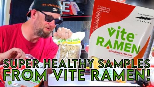 Vite Ramen Sends Samples & New Prototypes!
