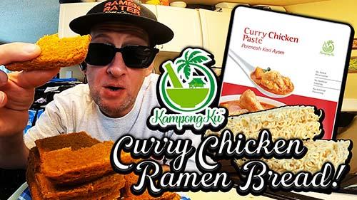 KampongKu Curry Chicken Ramen Bread!