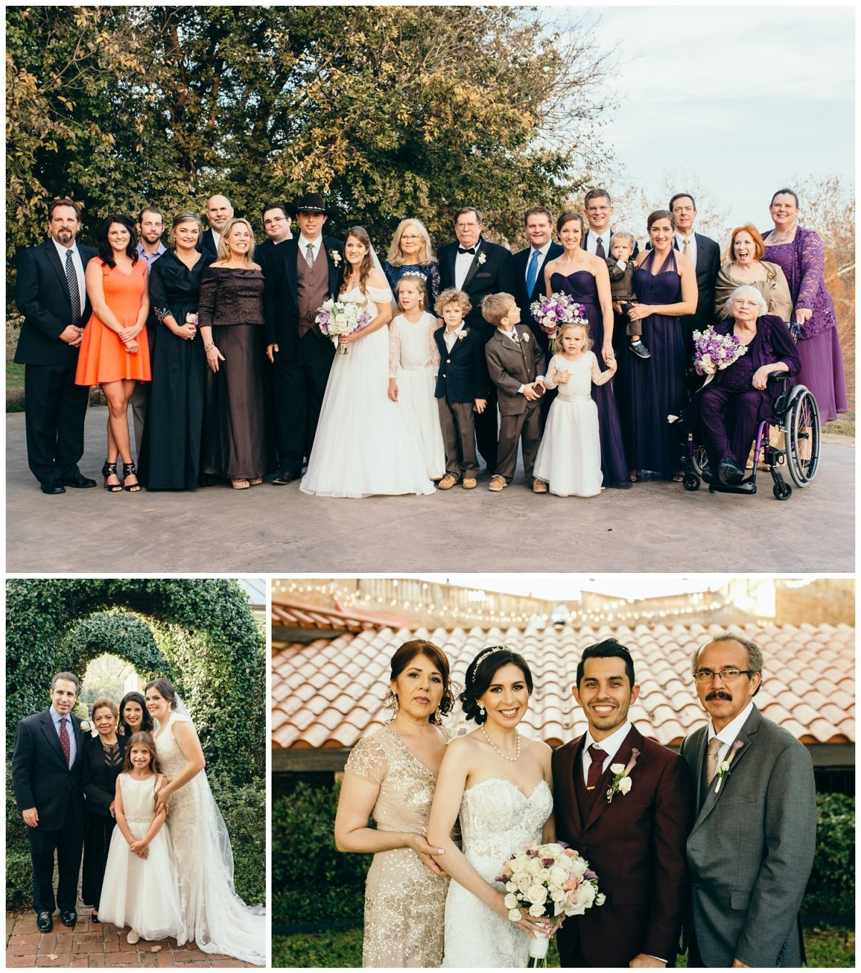 how to schedule a wedding.-family portraits