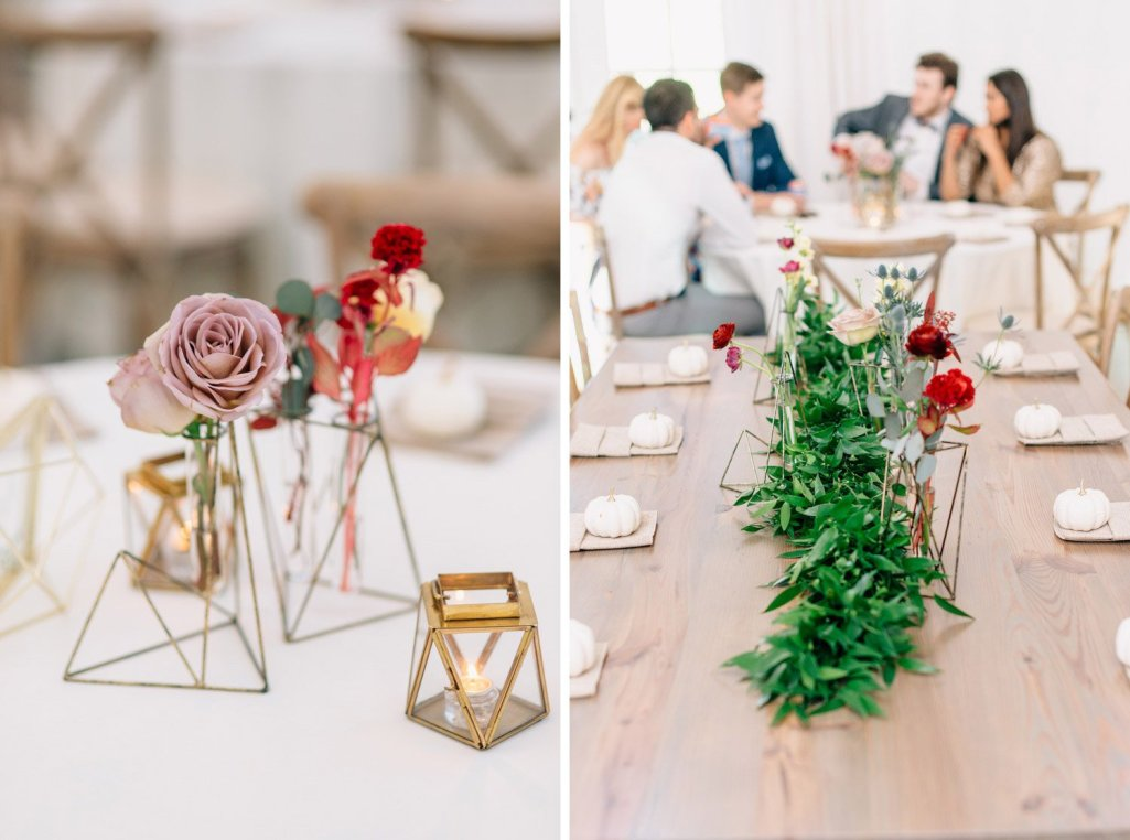 wedding reception center pieces
