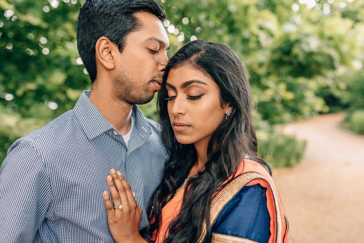 couple at hermann park