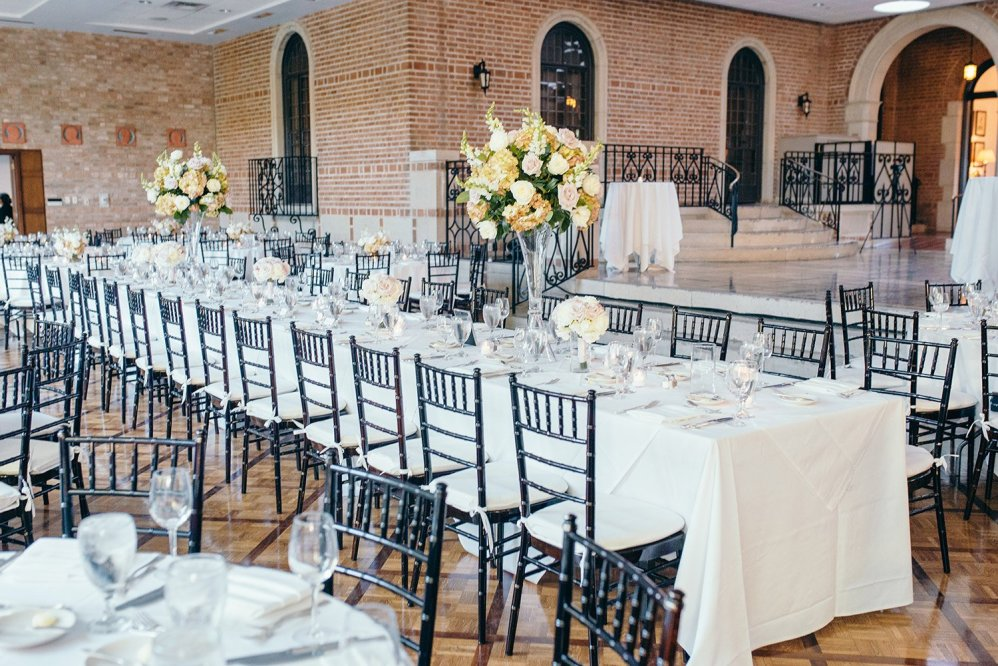wedding reception at cohen house