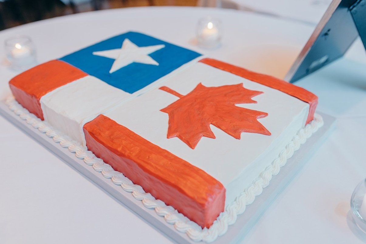 texas and canada cake