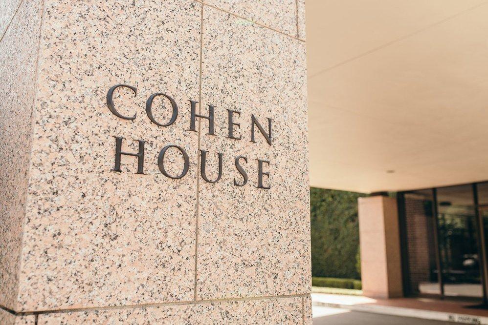 cohen house sign