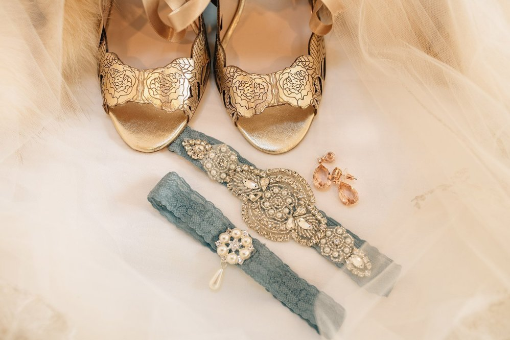 harriet wilde shoes and blue garter