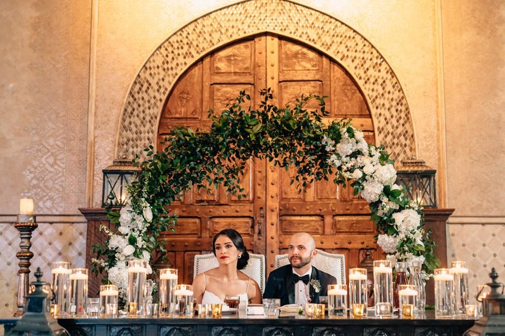 sweet heart table at madera estates