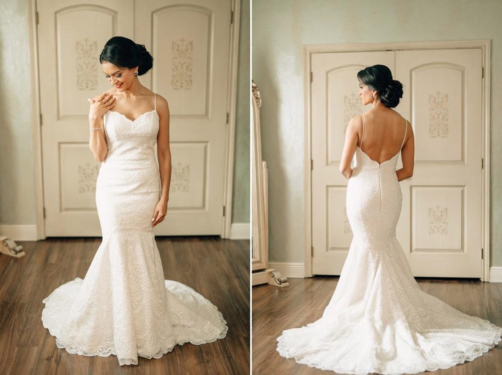 bride getting ready at madera estates