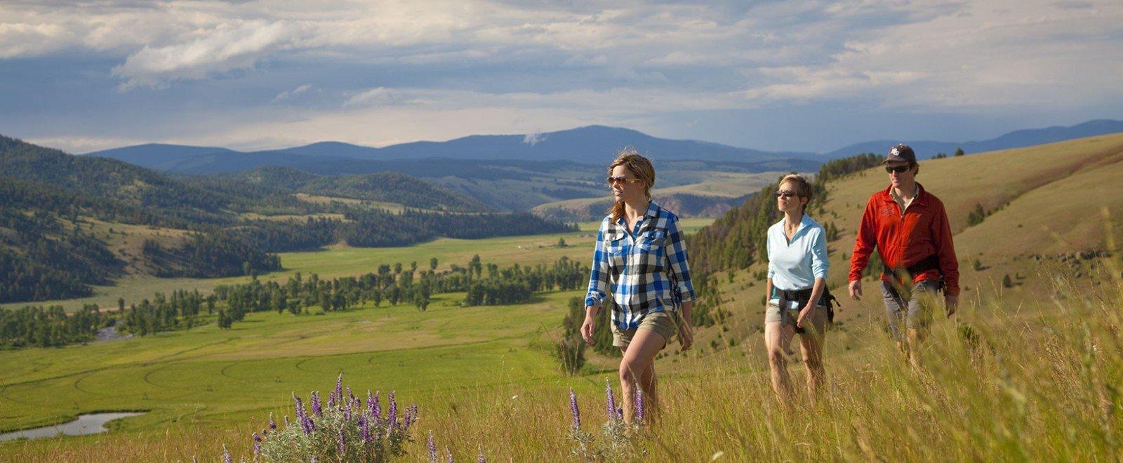 Montana Adventure  Hiking  The Ranch at Rock Creek