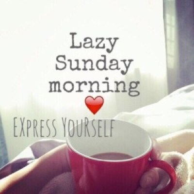 Lazy Sunday Morning Quotes Images