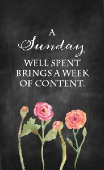 Sunday Quotes and Images