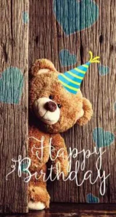 Teddy bear wishes birthday boyfriend images