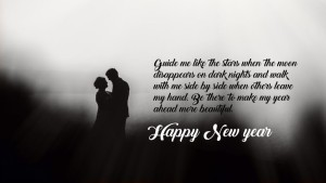 New Year Greetings for Lovers with Images