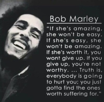Famous Bob Marley HUrt Quotes images