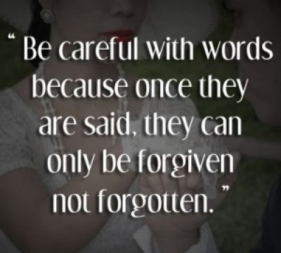 Quotes on Hurtful Words Images