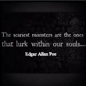 edgar allan poe quotes dark images