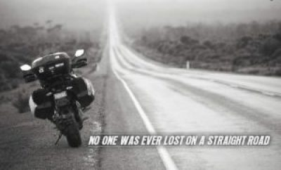 straight road quotes