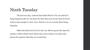 Tuesday with Morrie Quotes 9