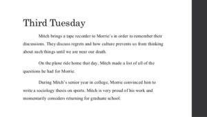 Tuesdays with Morrie Quotes 3