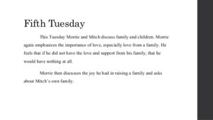 Tuesdays with Morrie Quotes 5