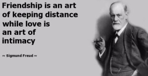 Famous Quotes by Sigmund Freud Friendship