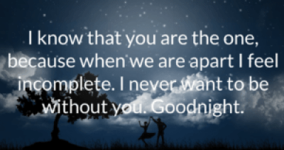 Good Night Messages for Girlfriend Quotes for Her