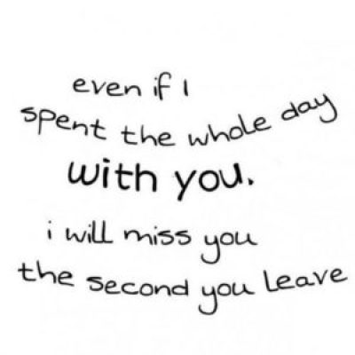 I miss you quote for her