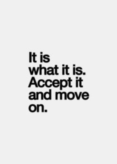 Move On Picture Quotes