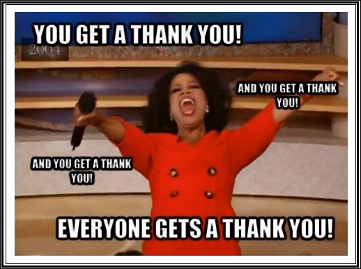 100 funniest thank you