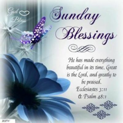 Happy Blessed Sunday Qu'otes