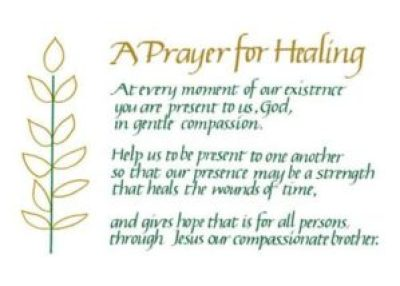 Prayer Quotes for Healing Images