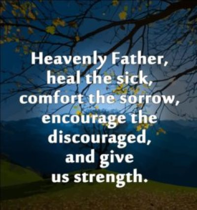 Prayer for healing the sick quotes