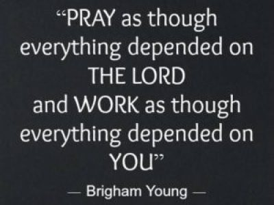 Brigham Young Quotes on Prayer