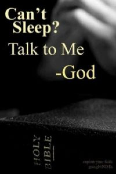 Can't Sleep God Quotes