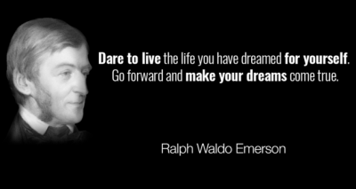 Dream Quotes By Ralph Waldo Emerson