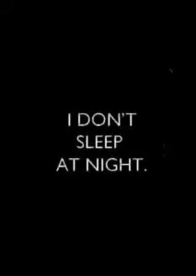 Sleepless Night Quotes
