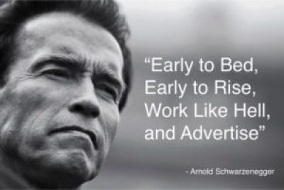Awesome Arnold Schwarzenegger Quotes