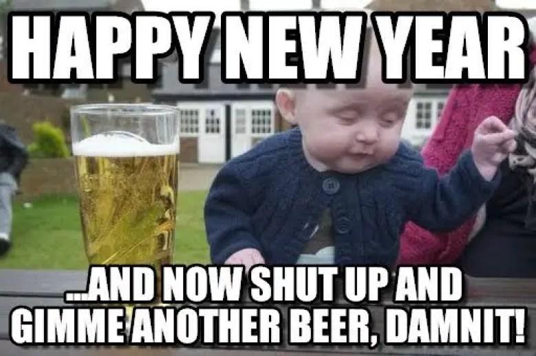Best Happy New Year Meme | Funny New Year Meme