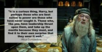 Dumbledore Quotes on Leadership